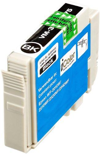 iColor Günstige Tintenpatronen für Epson: Patrone für Epson (ersetzt T1631 / 16XL), Black