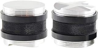 Baoblaze 2X Distributeur/Niveleur de Presse à Café Durable, Espresso en Aluminium