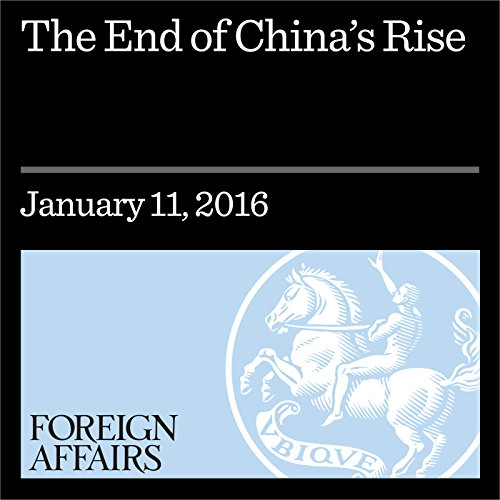 The End of China's Rise cover art