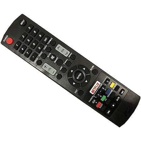 Ersatz Ersatz Fernbedienung Remote für Sharp LC39LE351E-BK Full HD LED TV