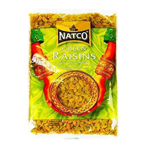 Natco Green Raisins 1kg - Natco Grüne Rosinen 1 kg