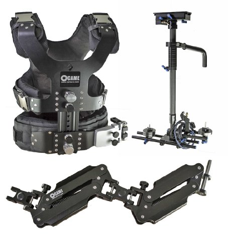 CAME 2.5-15kg Load Pro Camera Video Carbon Stabilizer + HDMI Connector