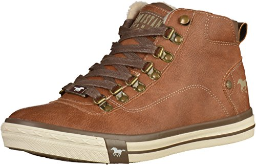 Mustang Unisex-Kinder 5024-604-301 High-Top, Braun (301 Kastanie), 33 EU