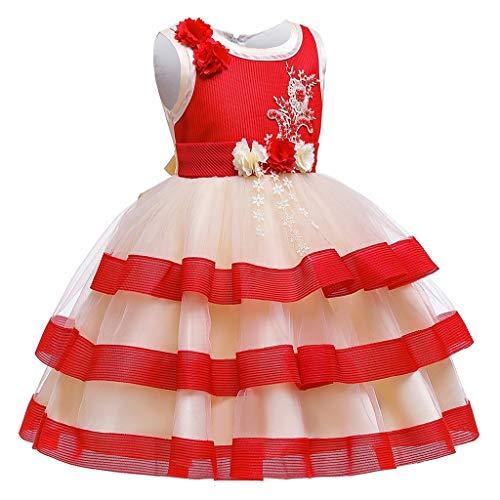 K-Youth Vestidos de Novia Chica Tutú Vestido Princesa Niña Vestido de Dama...