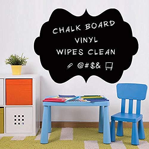 Art Muurstickers Vinyl Blackboard Applique Afneembare PVC Muurstickers Woonkamer Keuken DIY Koelkast Stickers Retro Home Decoratie 58 5X42Cm