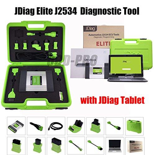 Autool JDiag Elite J2534 Apparaat ECU Diagnostiek & Coderen Herprogrammering Reset met Laptop