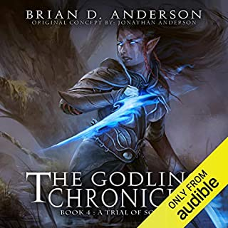 The Godling Chronicles: A Trial of Souls, Book 4 cover art
