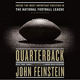 Quarterback audiobook cover art
