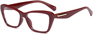 Aiweijia Fashion Retro Female Glasses Square Transparent Lens Reading Glasses