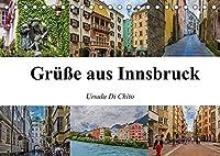 Gruesse aus Innsbruck (Tischkalender 2022 DIN A5 quer): Impressionen der historischen Altstadt Innsbruck (Monatskalender, 14 Seiten )