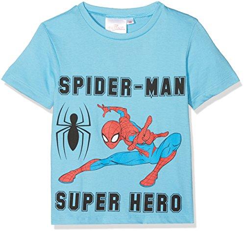 Marvel Spider-Man Camiseta, Azul, 8 Años para Niño
