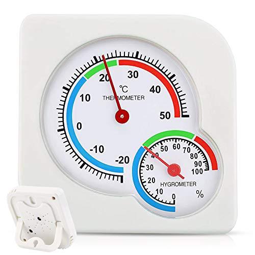 NOTSEK - Termómetro higrómetro para sala de marcación de