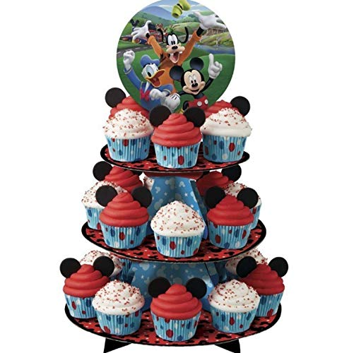 Disney Mickey Mouse Clubhouse Cupcake Party Treat Stand