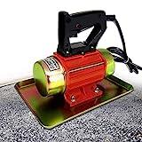 MXBAOHENG Vibratore per calcestruzzo 250 W 2840 giri/min 220 V Vibratore per piastra piatta in calcestruzzo Macchina vibrante per calcestruzzo vibrante per calcestruzzo manuale (rosso)