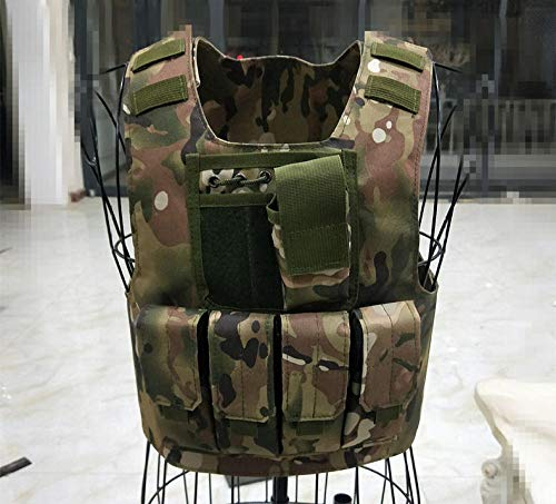 Tactisch vest militair tactisch vest en militair gevecht CS-spel rollenspel volwassen camouflage vest reizen wandelvest