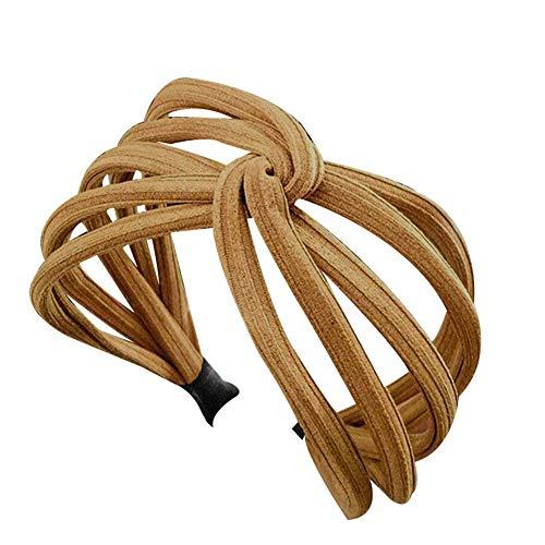 Vrouwen Twist Hoofdband Boog Knoop Cross Tie Doek Hoofddoek Haarband Hoop BRON