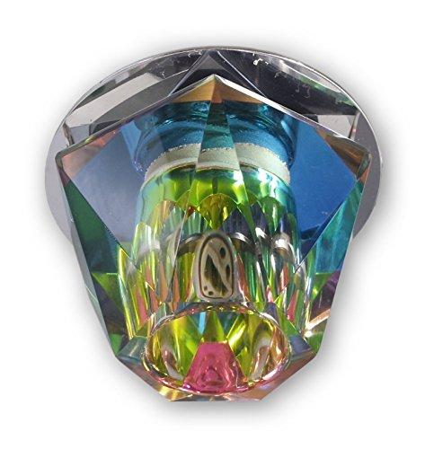Einbaustrahler 230V G9 Glas Leuchte Deckenlampen Spot Einbauleuchte 14073