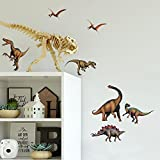 RoomMates RMK1043SCS Dinosaurs Peel and Stick Wall Decals ,Multicolor