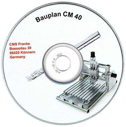 CM40 Bauanleitung CNC Fräsmaschine 3D Drucker + 3MF File 3D-Fertigungsformat