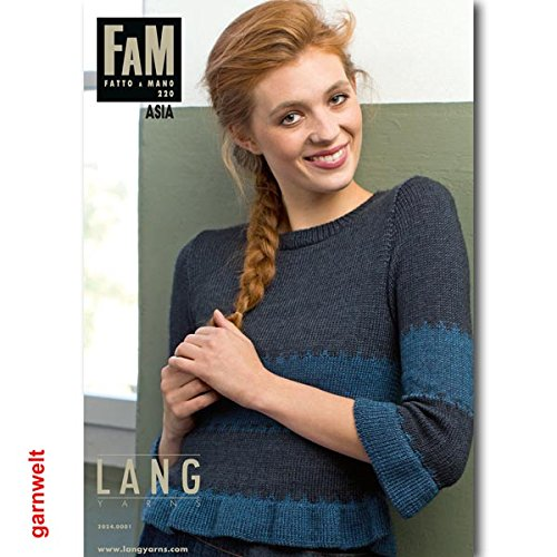 Lang Yarns FAM Fatto a Mano 220 Asia Collection Strickheft mit Strickanleitungen