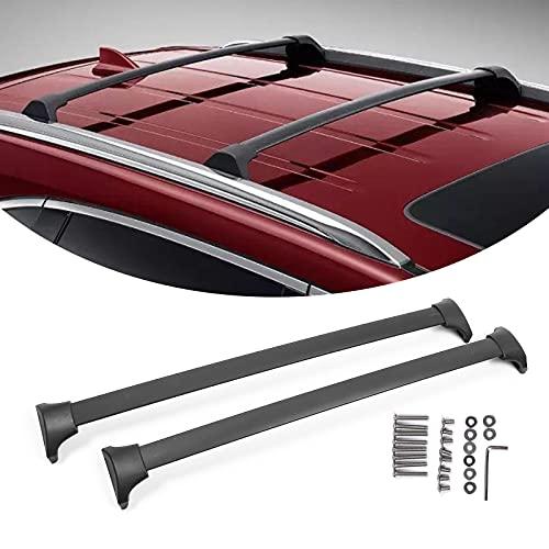 PARTOL Roof Rack Cross Bars for Honda Odyssey 2018-2021, Roof Rail Crossbars Luggage Rack for Snowboard Canoe Kayak Bike Cargo Carrier