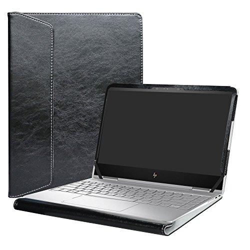 "Alapmk Protective Case Cover for 13.3"" HP Spectre x360 13 13-wXXX (13-w000 to 13-w999,Such as 13-w023dx) & 13-acXXX (13-ac000 to 13-ac999,Such as 13-AC013DX) Series Laptop[Not fit 13-aeXXX],Black"