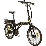 REMINGTON Urban Folder 20 Zoll Faltrad E-Bike Klapprad Pedelec StVZO Elektrofaltrad, Farbe:Grün
