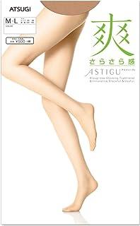 アツギ アスティーグ ATSUGI ASTIGU 爽 日本製 さらさら感 ストッキング (婦人 パンスト ヌードトウ) M-L/L-LL