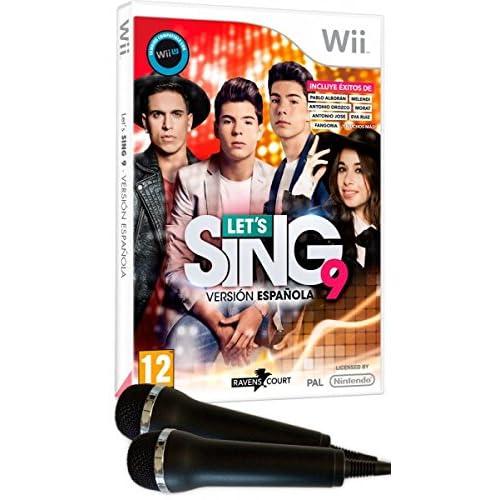 Lets Sing 9 - Versión Española + 2 Micrófonos: Amazon.es: Videojuegos