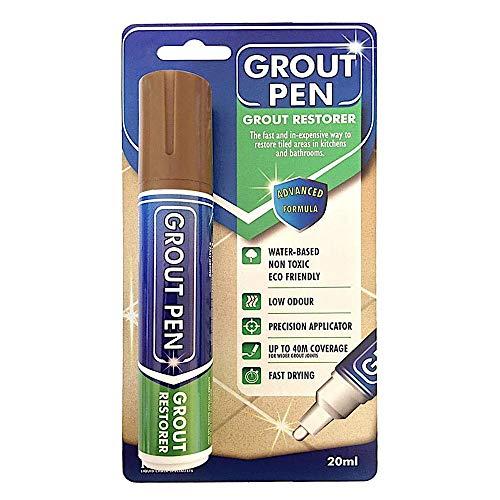 Rainbow Chalk großer Fugenstift–belebt & erneuert veschmutzte Fugen, hinterlässt einen sauberen, frischen Look. braun