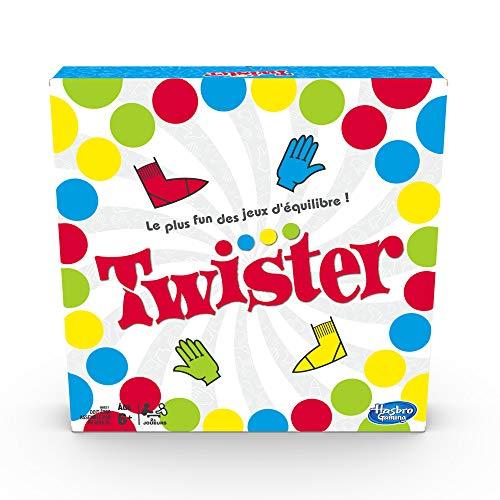 Hasbro Twister - Jeu de societe fun d'équilibre - Version...