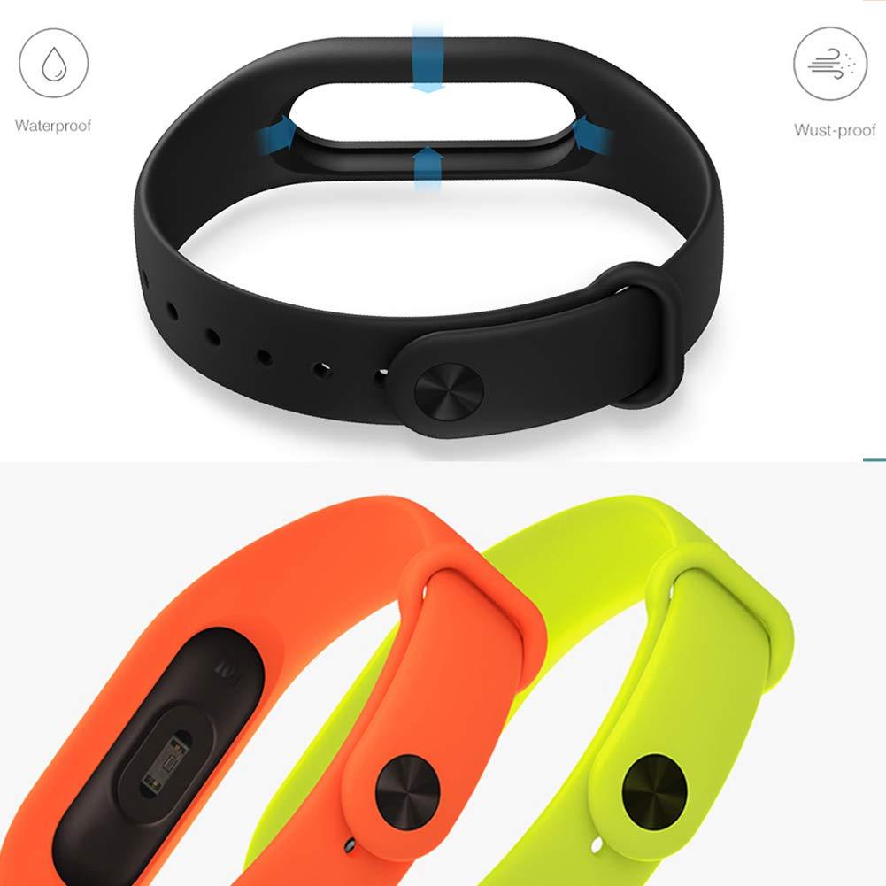 Acalder 13 Piezas Pulsera Xiaomi Mi Band 2 Correas Reloj Silicona ...