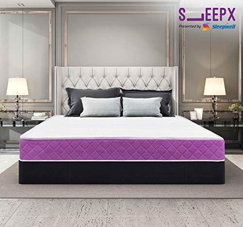 SleepX Presented By Sleepwell Ortho Mattress - Memory Foam (75*60*5 Inches) Rs. 9259  ( 42%  Discount).