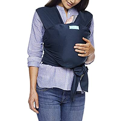 Moby Wrap Baby Carrier | Classic | Baby Wrap Carrier for Newborns & Infants | #1 Baby Wrap | Baby Gift | Keep Baby Safe & Secure | Adjustable for All Body Types | Perfect for Mom & Dad | Midnight