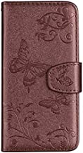Flip Cases - Retro Leather Wallet Case For 1 Plus 4.2 3.2 7.2 6.2 7.1 8.1 X7 x7i 2.2 3.1 Plus Phone Cover Card Holder Flip Coque (Brown With Mirror For Nokia 7.1 2018)