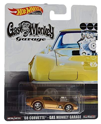 Hot Wheels Premium [Gold] '68 Corvette Gas Monkey Garage