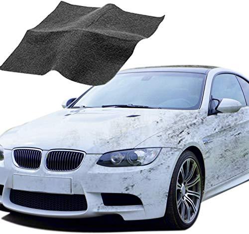 maxineer 2 Stück Auto Kratzer Reparatur Auto Kratzer Entferner Nano Magic Tuch Politur Auto Lackstift Lack Reparatur Set zur Reparatur von leichten Kratzfarben Und Wasserflecken,Autoreinigung