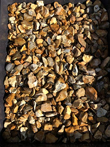Stone 20mm Golden Gravel 22kg bags driveway garden (30)