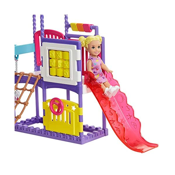 Barbie - Skipper Canguro, Vamos al Parque, Muñecas con accesorios (Mattel GHV89)