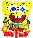 SauParty XL Figura Bob Esponja Helio Globos Fiesta Patrick Estrella Bob Esponja Balloon, Forma : R37F25 Bob Esponja