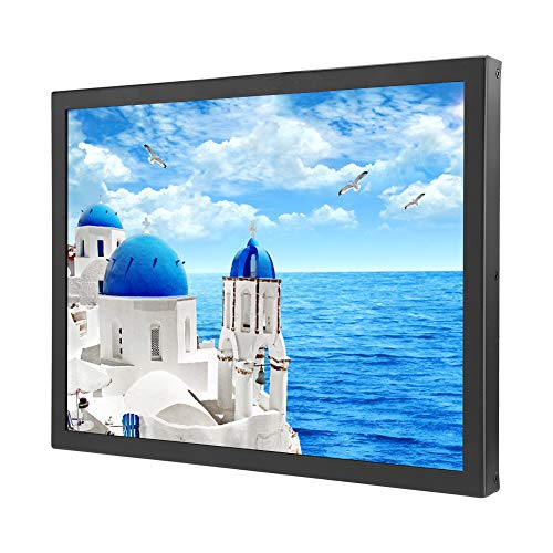 Wendry capacitief 15 inch touchscreen, HDMI-monitor 1024 x 768, 4: 3 capacitieve multi-punts touchscreen, draagbare industriële monitor, EU.