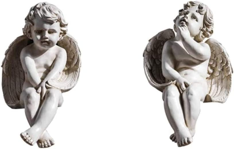 ZCL Garden Sculptures Outdoor Popularity Little Sculpture free Angel Peace Ange