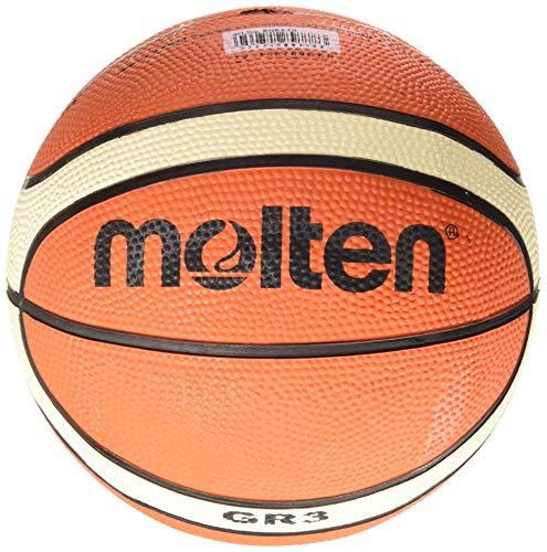 Molten - Basketbälle in Orange - hautfarben, Größe 3 cm