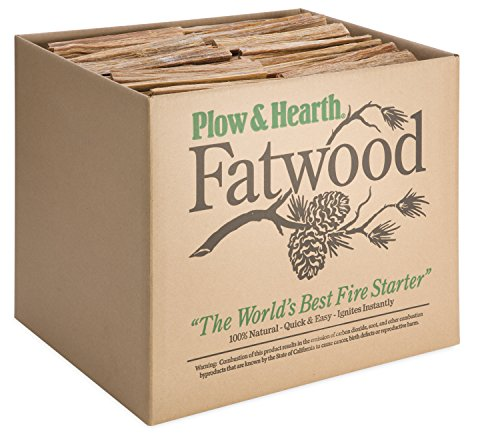 Cheap Fatwood 50 LB Box Fire Starter All Natural Organic Resin Rich Eco Friendly Kindling Sticks for...