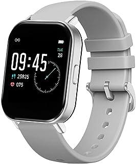 Touch Intelligente Klok Lichaam Temperatuur Monitoring Slimme Armband Hartslag En Bloeddruk Stappenteller Sport Horloge