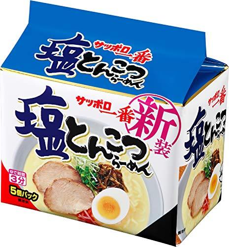 サンヨー食品 塩とんこつらーめん 5P485g