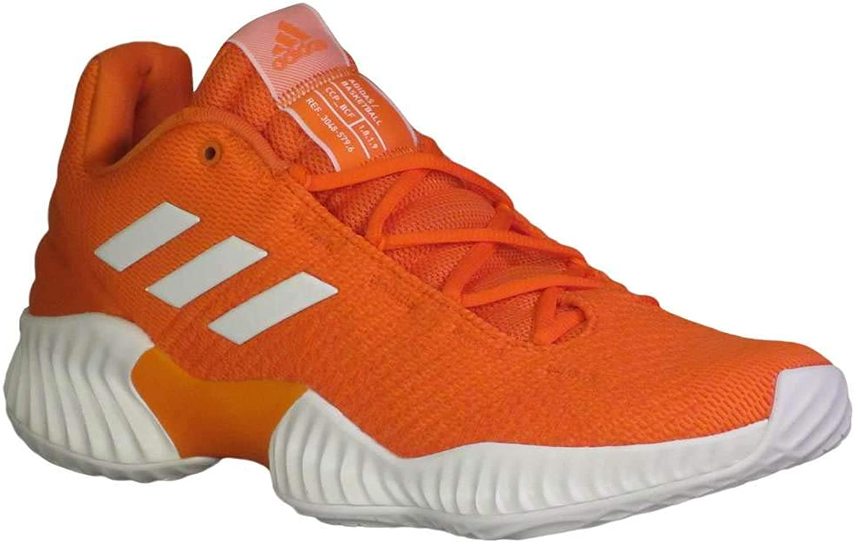 Adidas herrar Pro Pro Pro Bounce 2018 Low Basketball orange  vit  orange  arenan