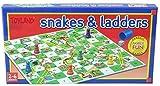 TOYLAND Snakes and Ladders Juego de Mesa Juego Familiar Tradicional