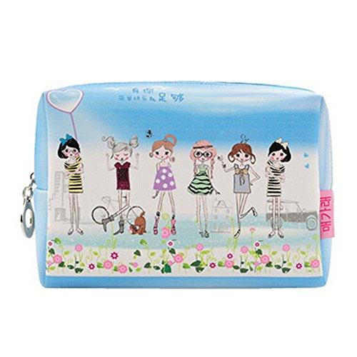 Portable Wash Voyage Sac sac cosmétique de maquillage Sacs, les filles