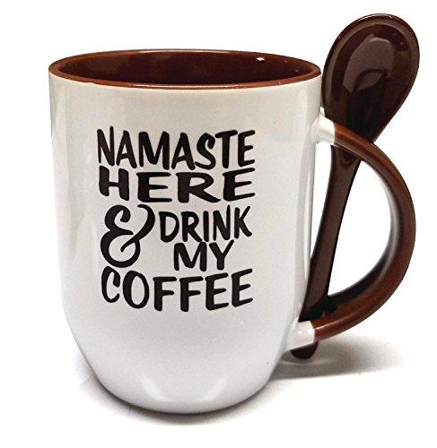 Funny Namaste Coffee Mug